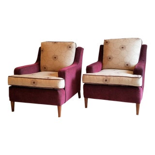 Sunbrella Refurbished Club Chairs - A Pair