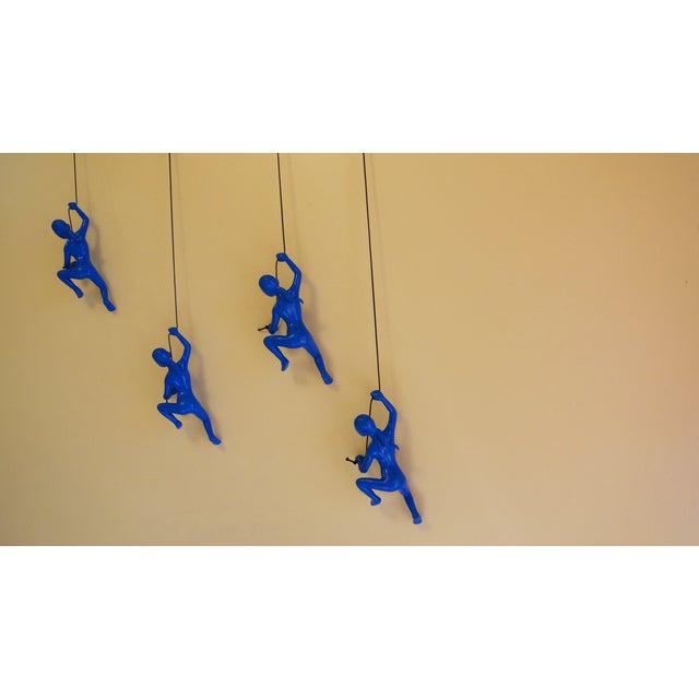 Blue Climbing Girl Wall Art - Image 6 of 8