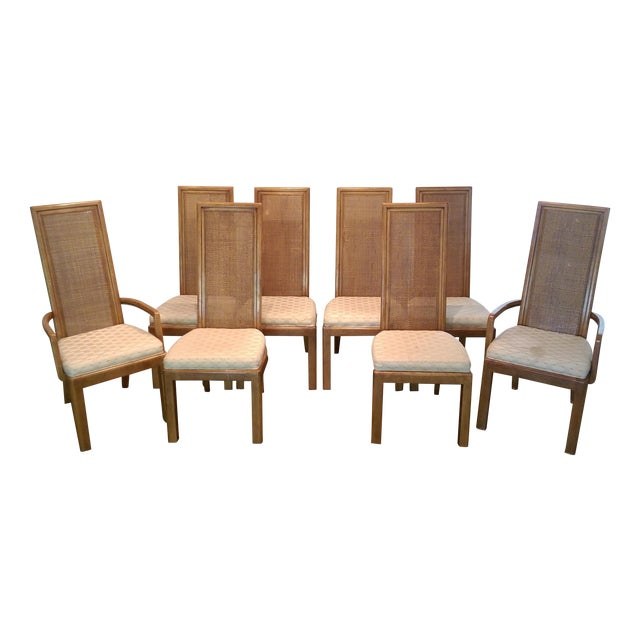 American of Martinsville Dining Chairs - Set of 8 - Image 1 of 7