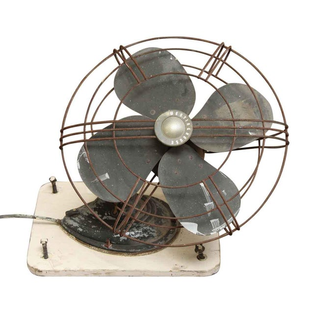 Vintage Wall Mounted Fans : Vintage westinghouse wall mount fan chairish