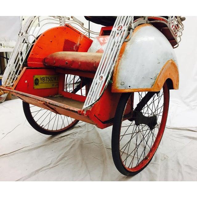 Vintage Indian Rickshaw Cart - Image 11 of 11