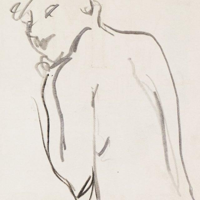 1950s Figural Study by Victor DI Gesu - Image 4 of 5