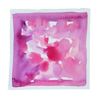 'Pink Haze'  Original Watercolor