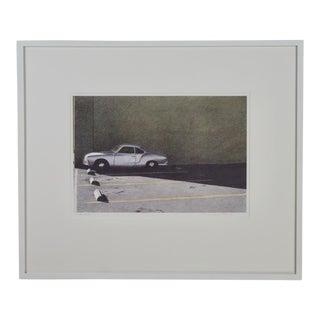 Karmann Ghia Lithograph by Robert Bechtle
