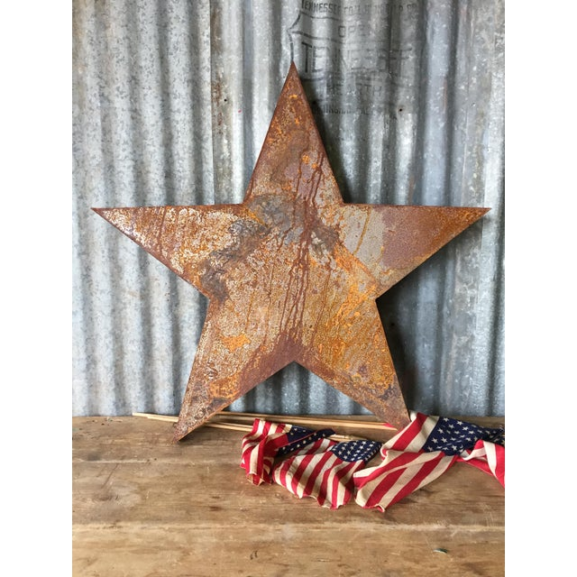 Handcrafted 3D Metal Star - Image 8 of 10