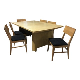 Paul Frankl Mid-Century Modern Dining Set for Johnson Furniture Comapny
