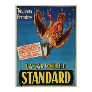 French advertising poster 'La Cartouche Standard', 1930