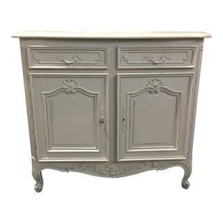 French Louis XV-Style Painted Buffet