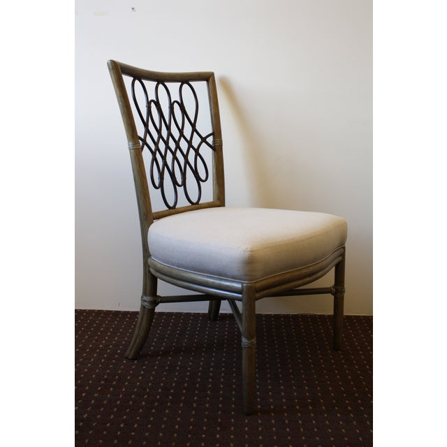 McGuire Barbara Barry Script Side Chair - Image 3 of 7