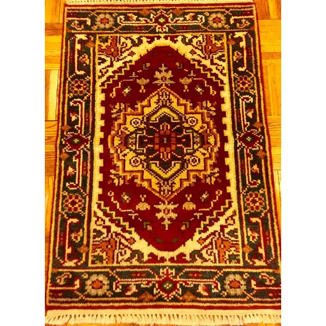 Turkish Sami-Antique Rug - 2′1″ × 3′ - Image 3 of 5