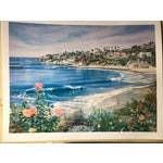 "Image of Ruth Mayer ""Laguna Beach Bikes"" Lithograph"