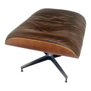Herman Miller Eames Ottoman Brown Leather
