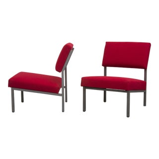 Cardinal Spectrum Style Easy Chairs - Pair