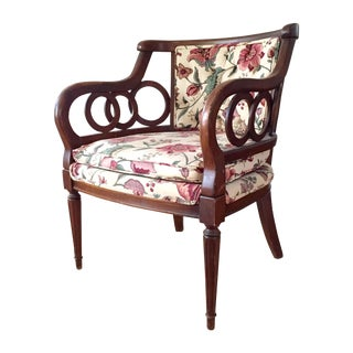 Hollywood Regency Style Loop Armchair