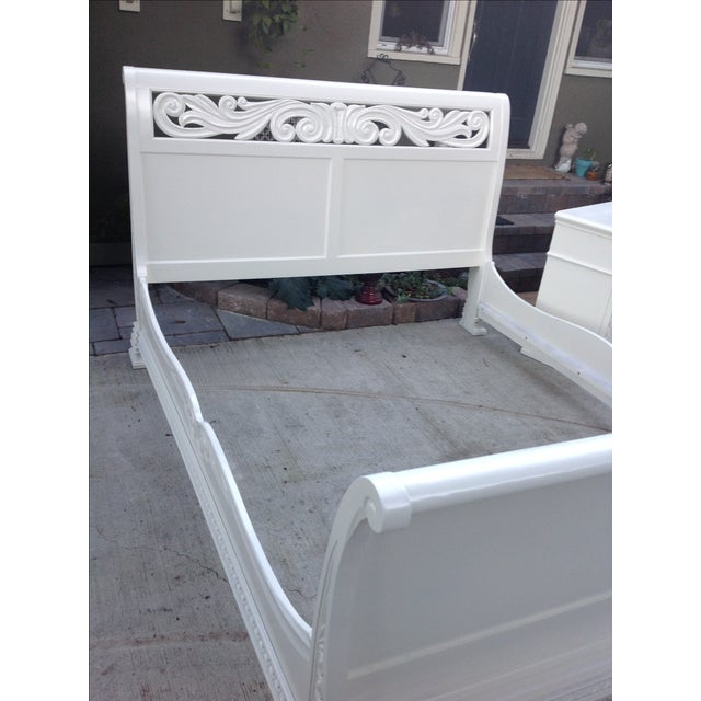 California King Sleigh Bed - Image 3 of 6