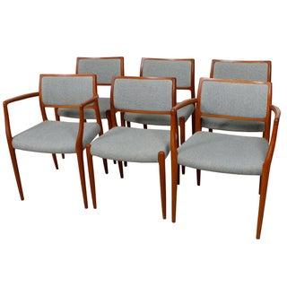 Teak Niels Moller Chairs - Set of 6