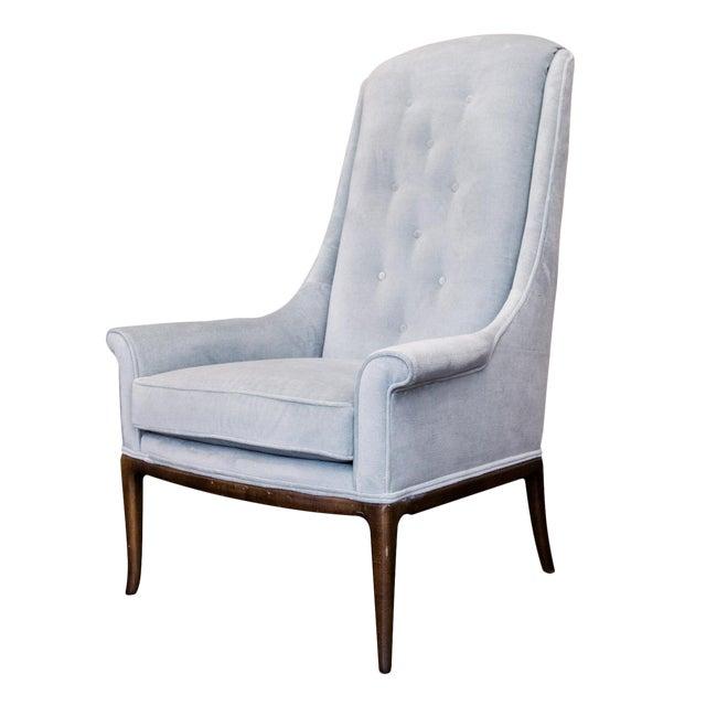 T.H. Robsjohn-Gibbings Highback Chair for Widdicomb - Image 1 of 8