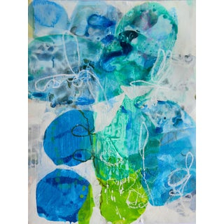 'Blue Petals 1' Original Composition