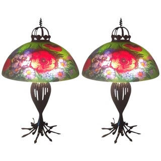 Ulla Darni Signed Table Lamps - A Pair