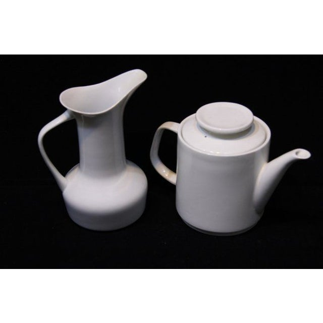 Image of Paul McCobb Mid-Century Coffee Pot & Pitcher - A Pair
