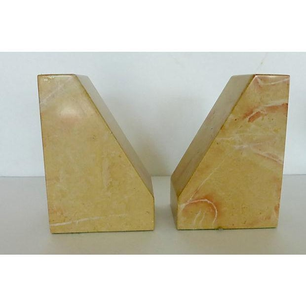 Beige Marble Architectural Bookends - Image 6 of 6