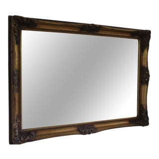 Carvers & Guilders Gold Bevelled Edge Mirror