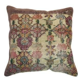 Weathered Turkish Rug Pillow
