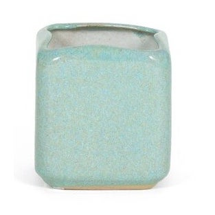 Glidden Ceramic Turquoise Planter