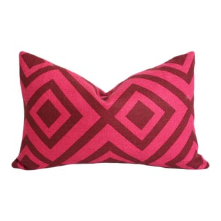 La Fiorentina Wine & Magenta Pillow Cover