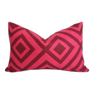 La Fiorentina Wine & Magenta Pillow Cover