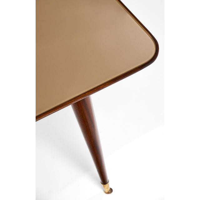 Italian Mid-Century Modern Dining Table - Image 10 of 11