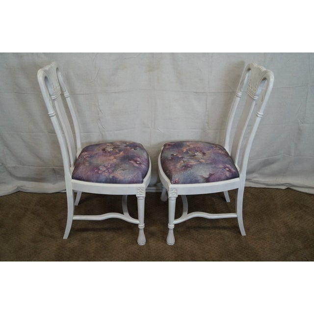 Whitewash Dining Chairs - Set of 10 - Image 3 of 10