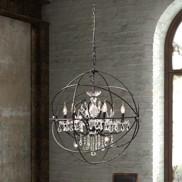 Gyro Crystal Chandelier - Image 2 of 4