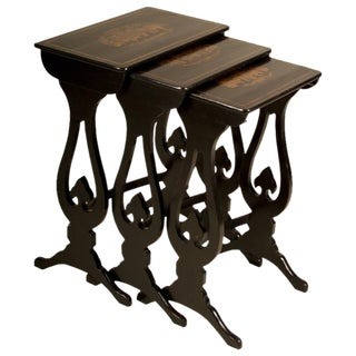 19th Century Regency Nesting Tables - Set of 3