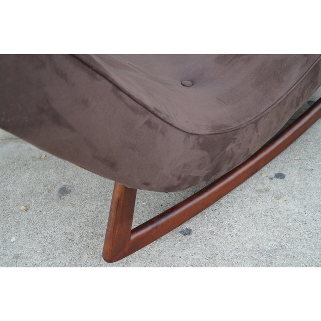 Vintage Rocking Lounge Chair by Adrian Pearsall - Image 5 of 6
