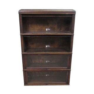 Viking Barrister Walnut Bookcase