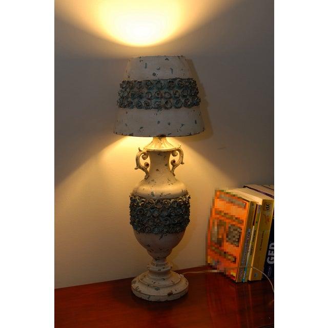 Image of Metal Nostalgia Rose Base Lamp