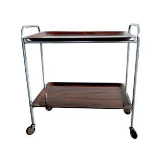 Mid Century Modern Serving Cart