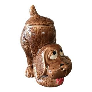 1970's McCoy Pottery Dog Jar