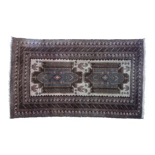 "Vintage Turkish Tribal Rug 'Asli' - 2'9""x4'9"""