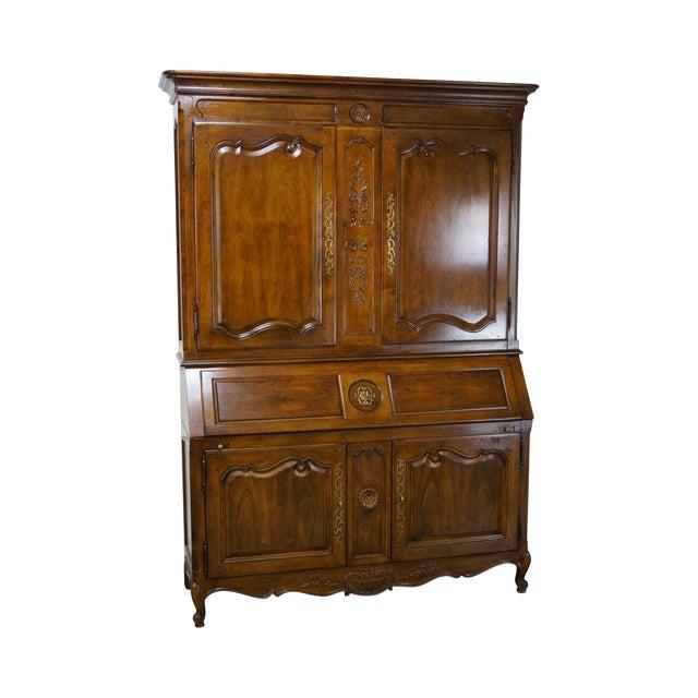 Henredon French Louis XV Style Secretary Desk - Image 1 of 10
