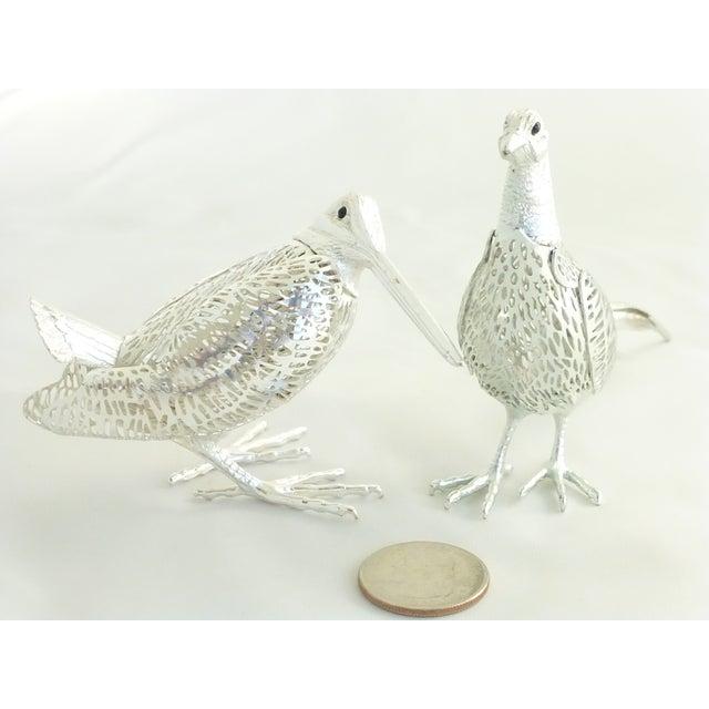 Christofle Silverplated Pheasant & Woodcock - Image 6 of 6