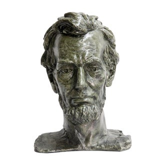 Abraham Lincoln Bust Sculpture