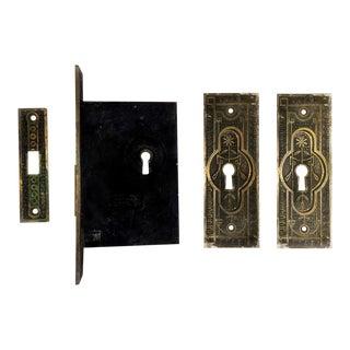 Norwalk Lock & Co. Antique Victorian Door Hardware - 4