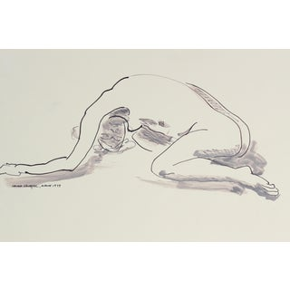 1979 Figure Drawing by Laura Lengyel