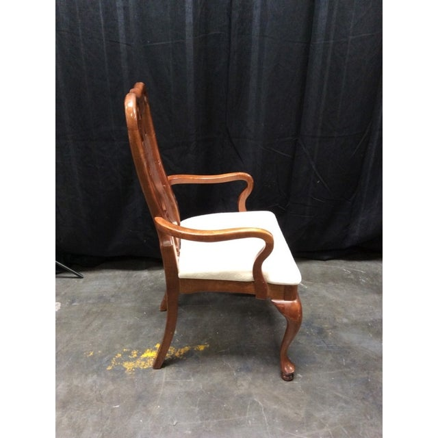 Chippendale Style Mahogany Chairs - 5 - Image 4 of 6