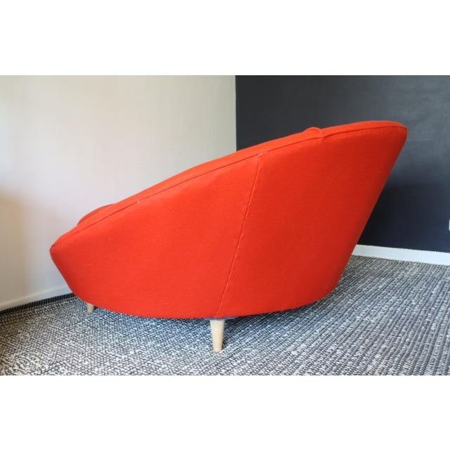 Milo Baughman Round Chaise Lounge - Image 8 of 10