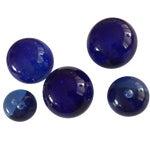 Image of Blue Glass Bubble Balls - Set of 5