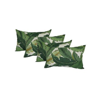 Swaying Palms Rectangle Lumbar Pillows - Set of 4