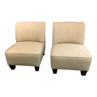 Hiatt Armless Chairs - A Pair